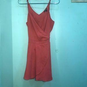 Express Dresses - Express coral romper!